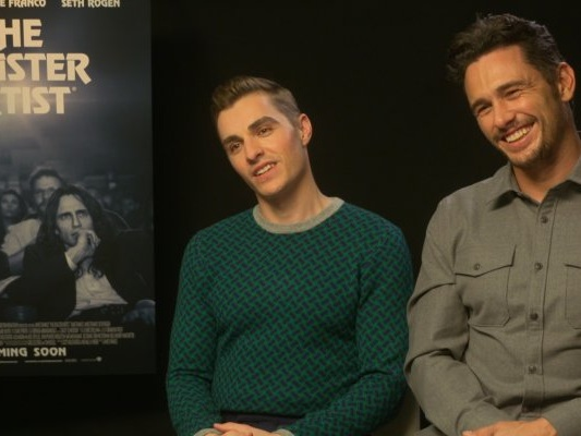 "The Disaster Artist, James Franco: ""Tommy Wiseau è l'Orson Welles dei brutti film"""