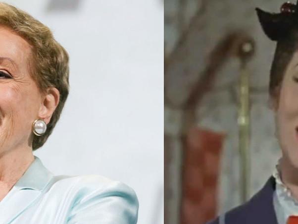 """Julie Andrews: """"Volevano drogarmi per vedere cosa fa Mary Poppins strafatta"""""""