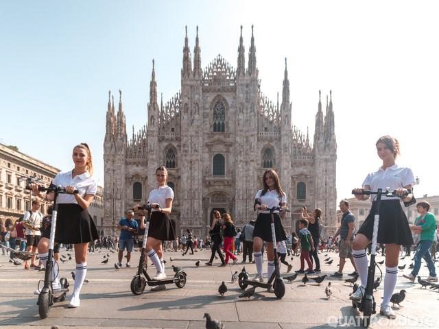 Mobilità elettrica - Monopattini, Milano pronta a partire