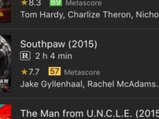 IMDb Film & TV si aggiorno alla vers 8.0.1