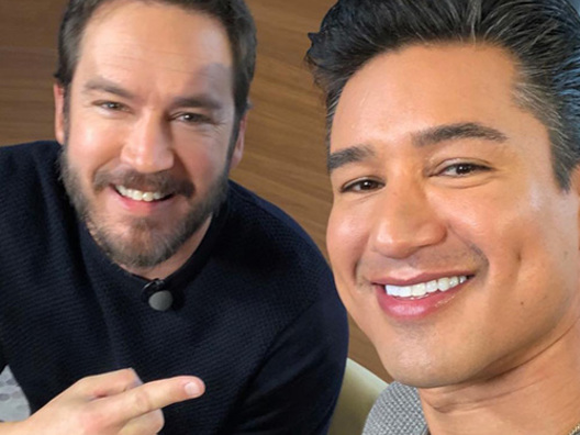 Mario Lopez e Mark Paul Gosselaar, reunion a Extra TV