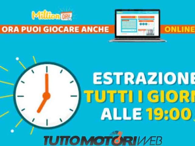 Estrazione Million Day 10 Dicembre Risultati Diretta live