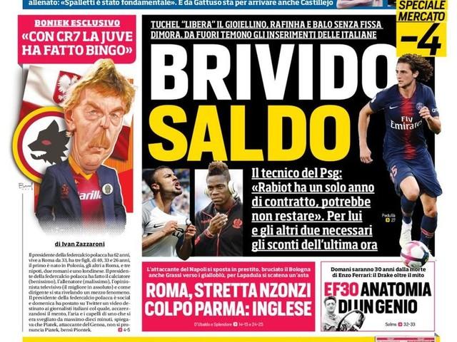 Corriere dello Sport – Milano spacca