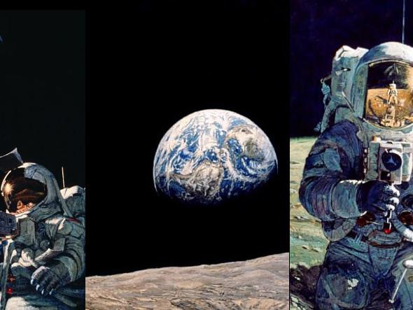 """Missione spaziale Apollo 11 e teorie del complotto: """"La NASA ha cancellato le prove degli alieni"""". La risposta di Aldrin"""