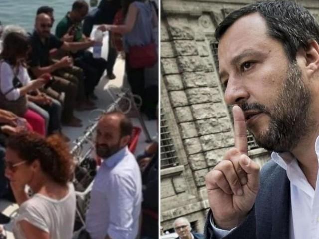 Bella Ciao, Orfini vs Salvini, Fusaro lo gela: 'Cantarla significa tuffarsi nel passato'