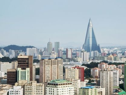 L'Hotel del Destino, l'edificio disabitato più alto del mondo che illumina le notti di Pyongyang