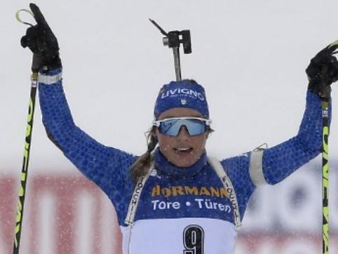 Biathlon: Wierer campionessa del mondo nella mass start