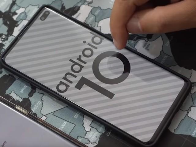 Gamma Galaxy S10 e Galaxy Note 10: Android 10 Beta già da ottobre 2019