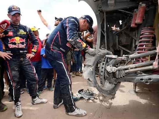 """Dakar, Loeb minaccia l'abbandono: """"Assurdo ciò che sta accadendo"""""""
