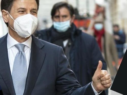 """""""Mandiamo Renzi a casa"""". Ma poi Conte cancella il post"""