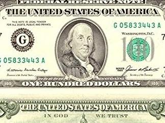 Quanto valgono 100 dollari in euro