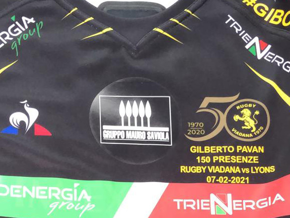 RugbyViadana vince su Piacenza (22-17): #Gibo12 (Pavan)tsupera 150 presenze in giallonero