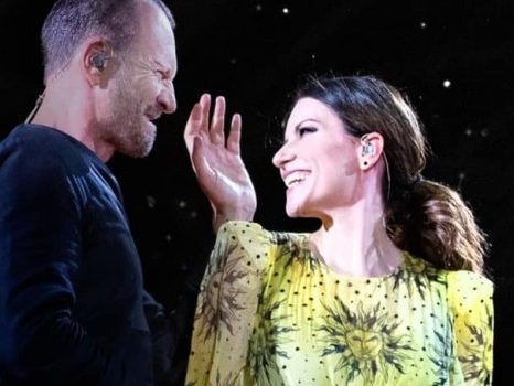 Il concerto di Laura Pausini e Biagio Antonacci a Cagliari chiude il tour negli stadi: info orari e scaletta