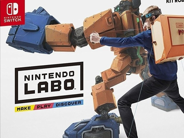 Kit Nintendo LABO in vendita su Amazon