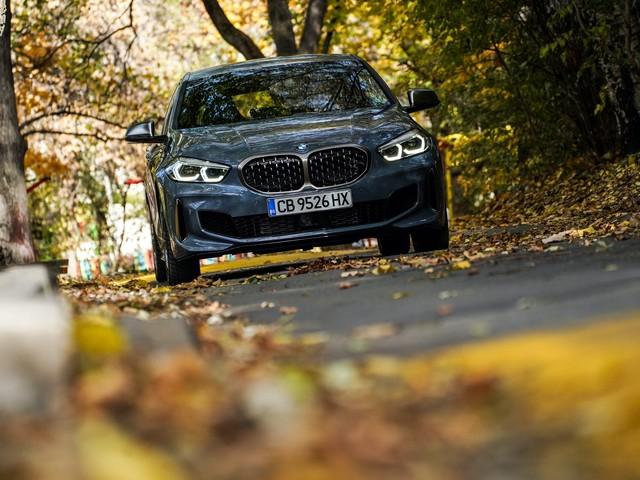 BMW M135i vs Mercedes-AMG A45 S — Car Mag Hot Hatch Battle