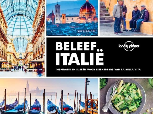 Lonely Planet presenteert koffietafelboek over Italië
