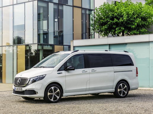Mercedes-Benz Vans introduces the series version of the EQV electric van prior to display at IAA in September