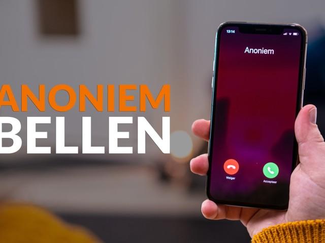 Video: Anoniem bellen op je iPhone doe je zo