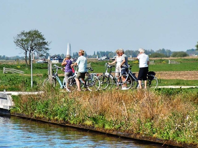 Volg de Maas van begin tot eind per fiets