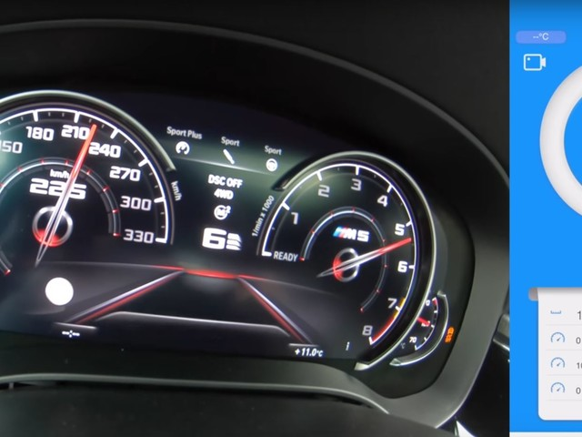 Video: Check out a 780 HP BMW M5 Going All Out on the Autobahn