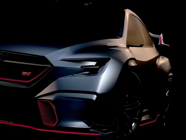 Subaru Viziv Performance STI concept will debut at the Tokyo Auto Salon