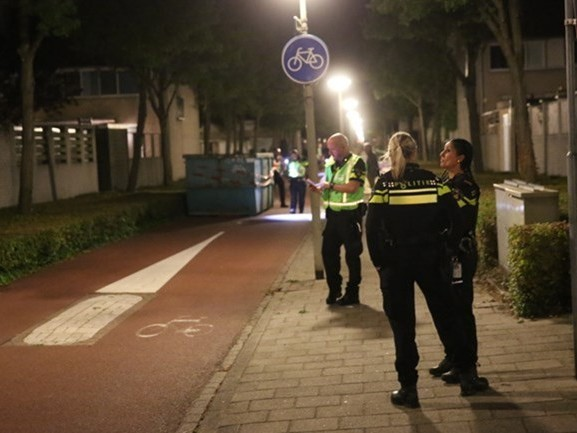 Bouwcontainer op fietspad Bergen op Zoom waar scooterrijder op botste, stond daar illegaal
