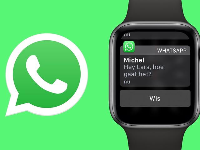 WhatsApp op de Apple Watch: zo stuur je appjes vanaf je pols