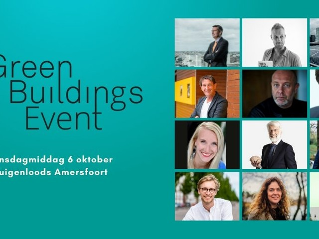 Jij gaat gratis naar het Green Buildings Event 2021