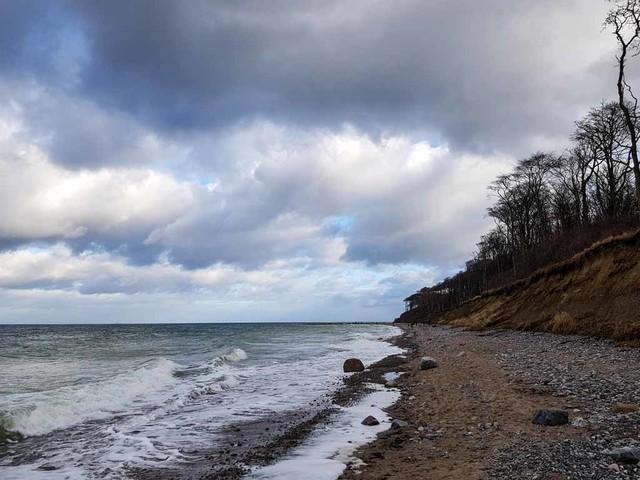 Spaziergang am Ostseestrand von Nienhagen