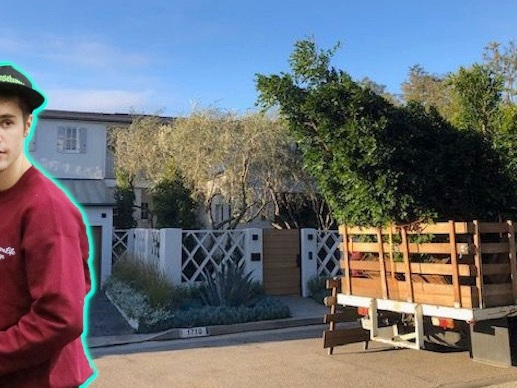 MUST-SEE PHOTOS - See Justin Bieber And Hailey Baldwin's New Beverly Hills Mansion!