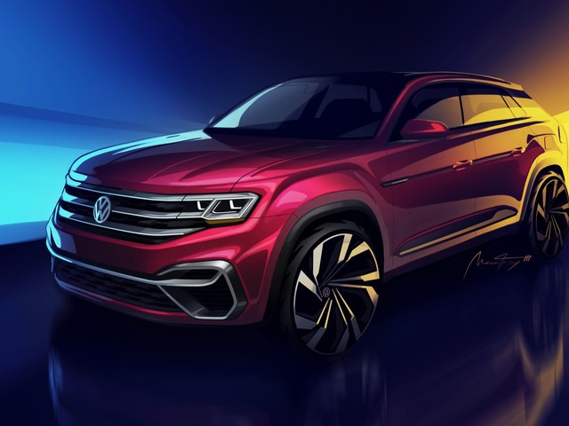 Five passenger VW Atlas concept is headed to New York