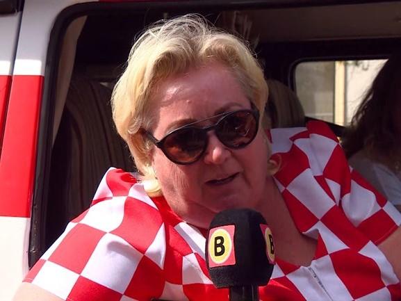 Betty van den Oetelaar zet de boel op stelten bij ophalen hittewimpel