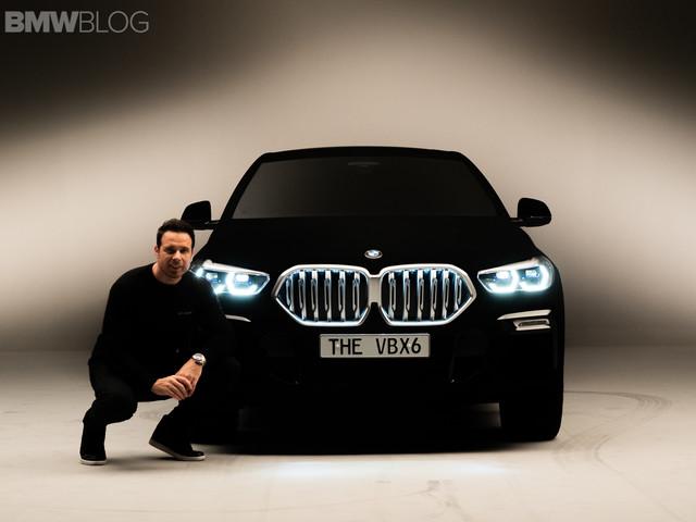 EXCLUSIVE: BMW X6 Vantablack – Upclose videos and new photos