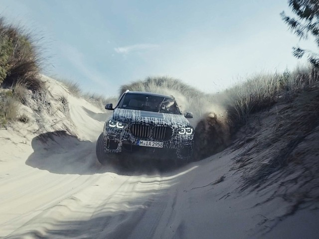 Video: First Official Shots of Upcoming BMW X5 Being Tested