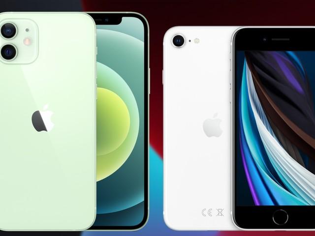 iPhone 12 vs iPhone SE 2020: dit zijn de belangrijkste verschillen