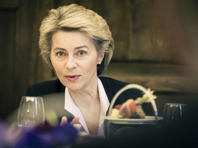 Europees Parlement stemt in met benoeming Ursula von der Leyen