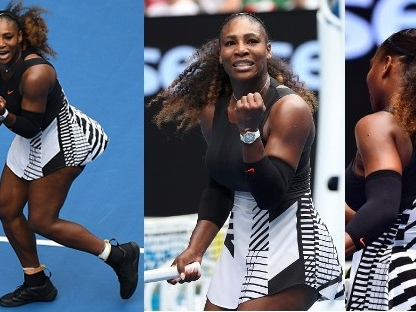 Serena Williams' Nike fashion in pregnancy-shortened 2017 season