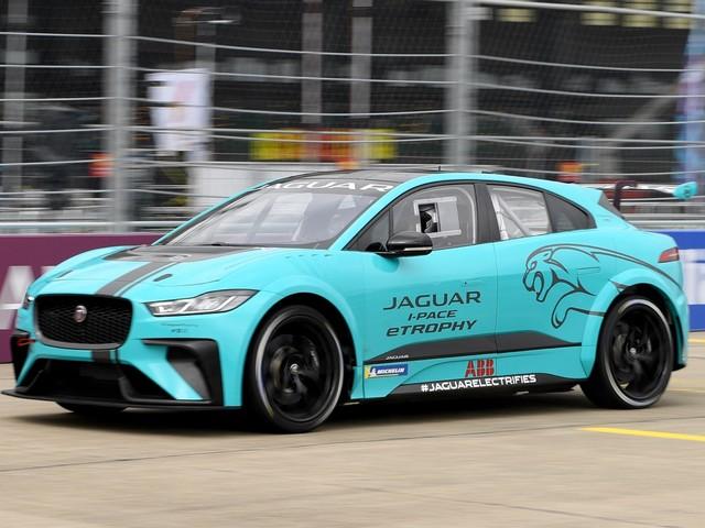 Jaguar I-Pace eTrophy race car debuts in Berlin
