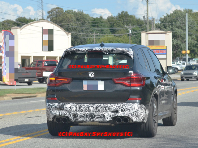SPIED: BMW X3 M caught wearing very little camo