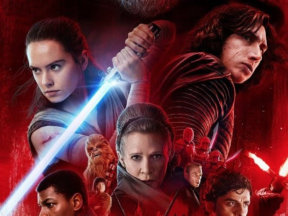 5.3 Million Social Media Mentions for Last Jedi 1.5 million in past week