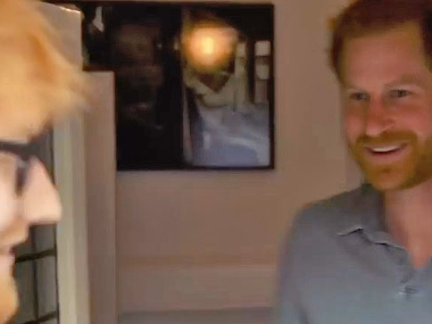When Ed Sheeran Visited Prince Harry ...