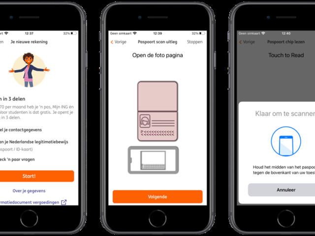 ING-update: rekening openen via iPhone-app