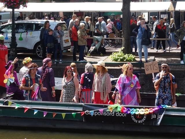 Dag twee Woodstock Leiden droog