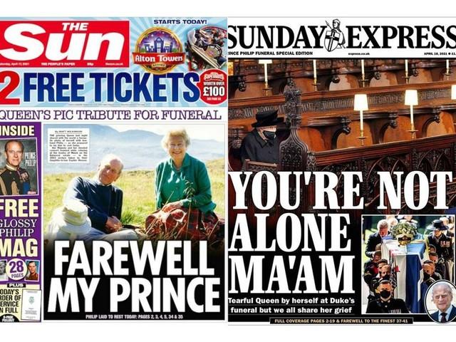 De Britse kranten, daags na het afscheid