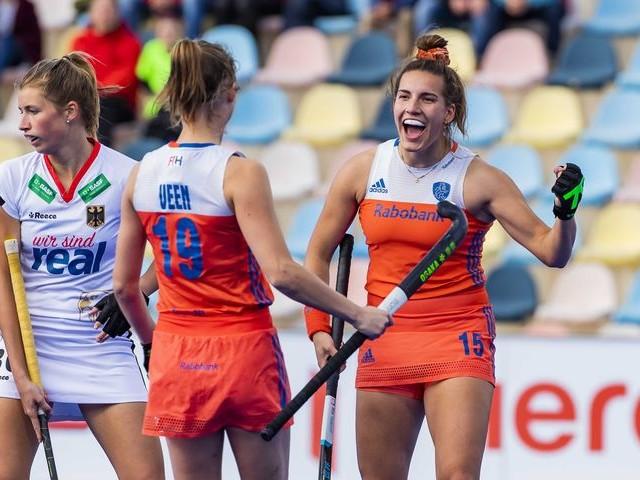 Hockeyster Frédérique Matla is het leergierige boegbeeld van Oranje