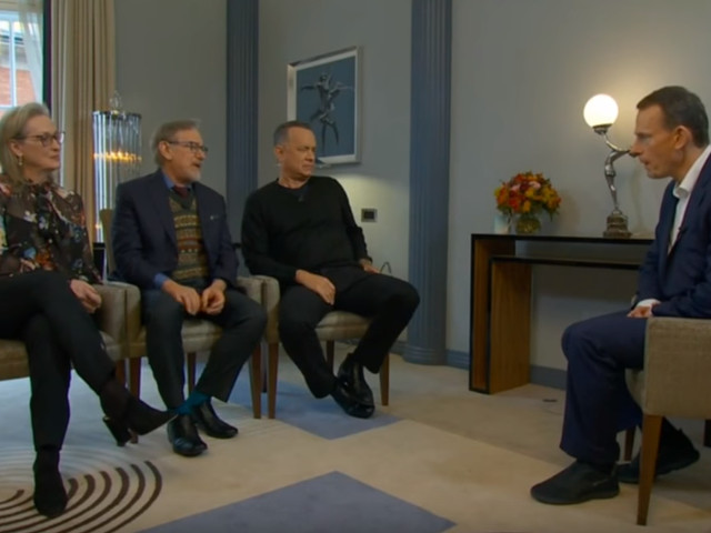 VIDEO - Meryl Streep, Tom Hanks, Steven Spielberg On The Andrew Marr Show