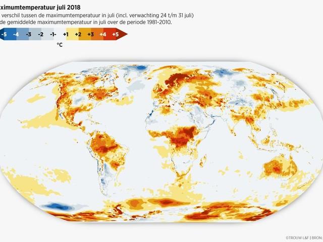 Wetenschappers weten het zeker: de hitte van vorig jaar is veroorzaakt door broeikasgassen