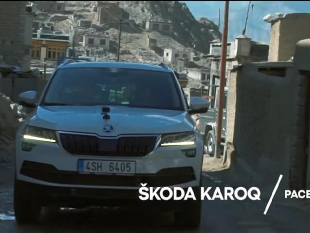 Skoda Karoq Video In India Shows It Tackling Ladakh Terrain