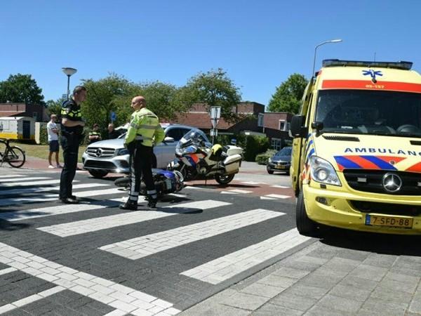 Scooterrijder raakt gewond bij aanrijding met auto in Almelo