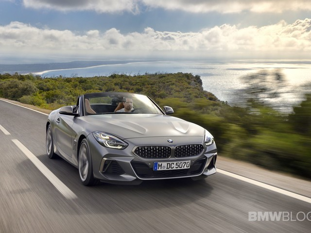 BMW USA announces the official 0-60 mph time for the Z4 M40i